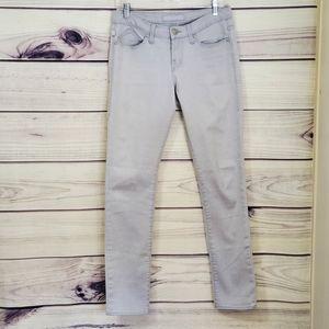 Rock & Republic Brand Size 6 Gray Skinny Leg Pants
